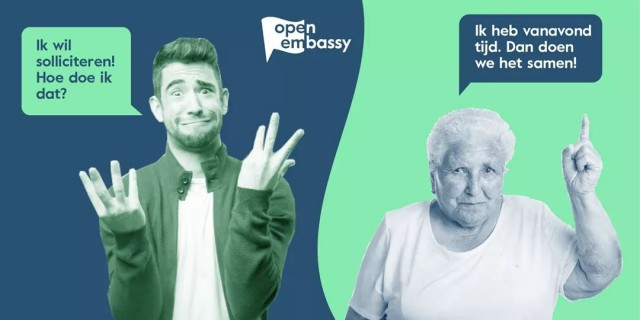 Open Embassy online helpdeks voor vragen over alledaags leven in Nederland